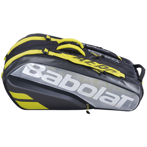 Babolat Pure Aero VS Racket Holder X9 schwarz/gelb 2021