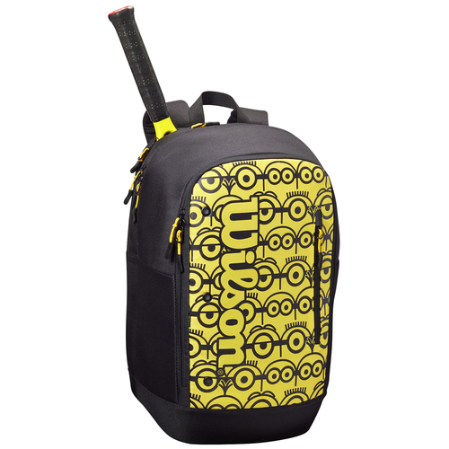 Wilson Minions Tour Backpack black-yellow 2021