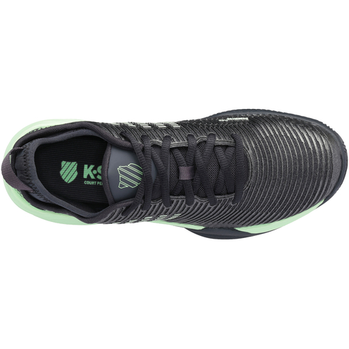 K-Swiss Hypercourt Supreme HB Men Clay Court blue graphite-soft neon green