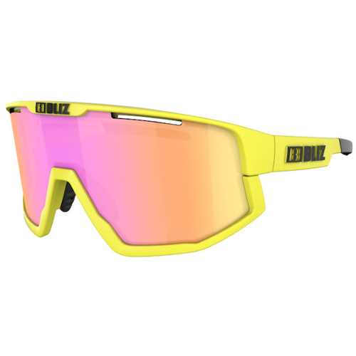 Bliz Fusion Matt Neon Yellow / Matt Neon Yellow Jawbone / Brown-Purple Multi