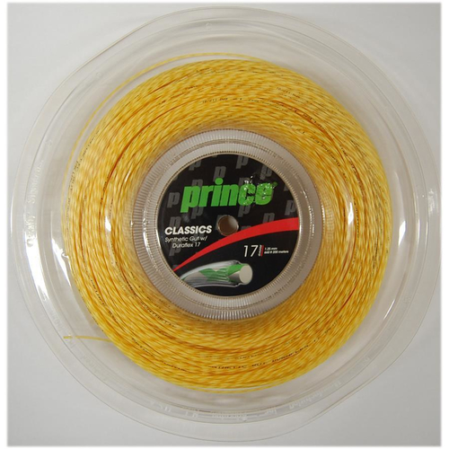 Prince SYNTHETIC GUT DURAFLEX ( 200m Rolle ) weiß, gold od. neon-gelb