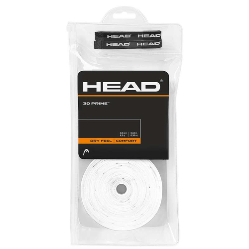 Head Prime Overgrip 30er Pack weiß