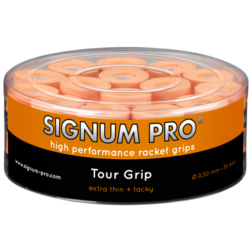 SIGNUM PRO Tour Grip OVERGRIP ( 30er Box ) orange