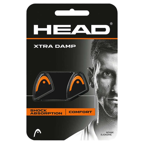 HEAD Xtra Damp 2er Pack schwarz-orange