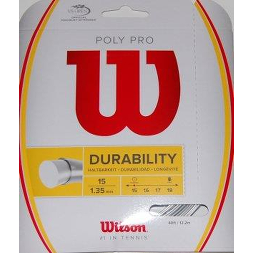 Wilson Poly Pro ( 12,2 m Set ) silber
