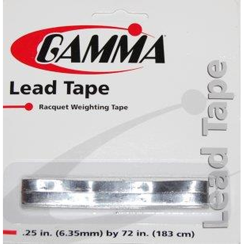 Gamma Lead Tape  1,83m x 6,35mm