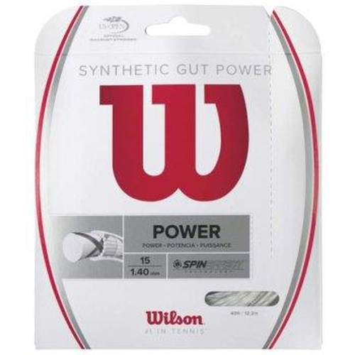 Wilson SYNTHETIC GUT POWER 16 ( 12,2 m Set ) schwarz
