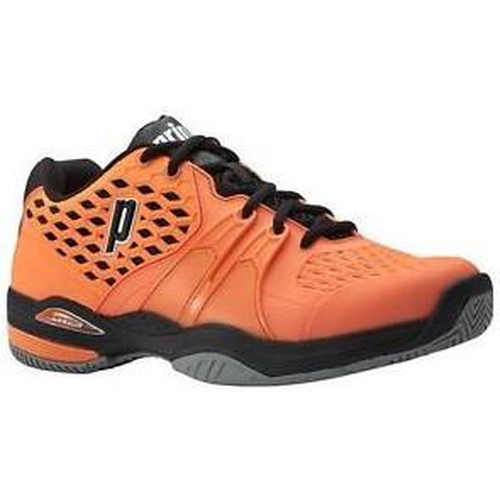 Prince Warrior Men Clay Court  orange-schwarz