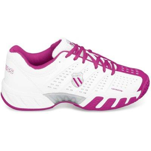 K-Swiss BigShot Light Junior  weiß-magenta-silber
