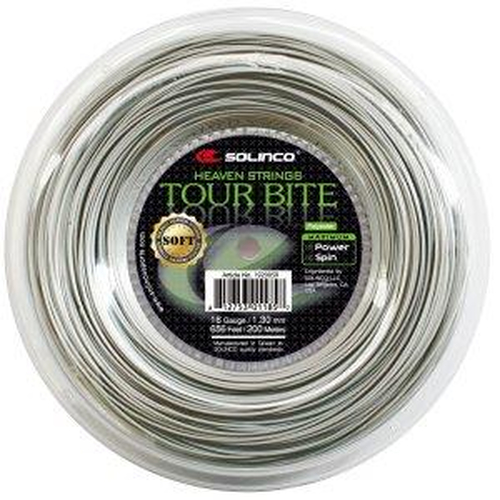 Solinco Tour Bite SOFT ( 200m Rolle ) silber