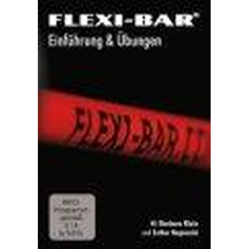 FLEXI-BAR ATHLETIK - schwarz + Trainingsposter 1-2 + DVD + Protection Bag