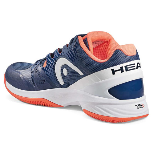 HEAD Nitro Pro Women Clay Court  navy-coral