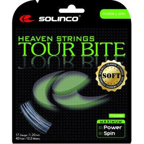 Solinco Tour Bite SOFT ( 12,2m Set ) silber