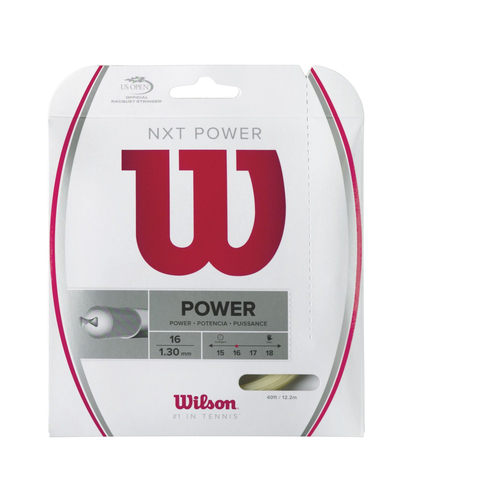 Wilson NXT Power ( 12,2 m Set ) natur 1,26 mm