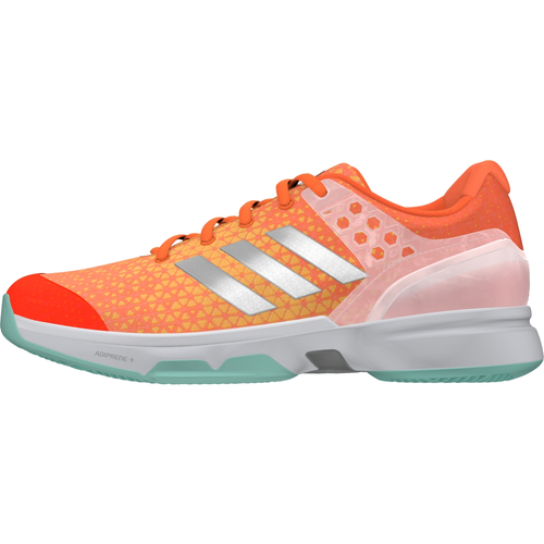 Adidas Adizero Ubersonic 2 All Court Women  orange-silber