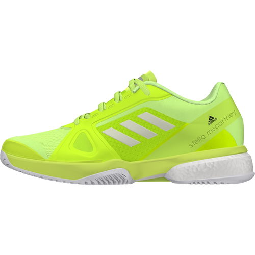 Adidas by Stella McCartney Barricade Boost 2017 All Court Women  gelb-weiß