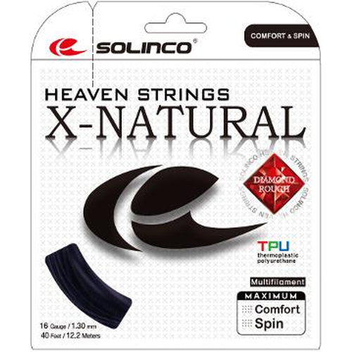 Solinco X-Natural ( 12,2m Set ) schwarz