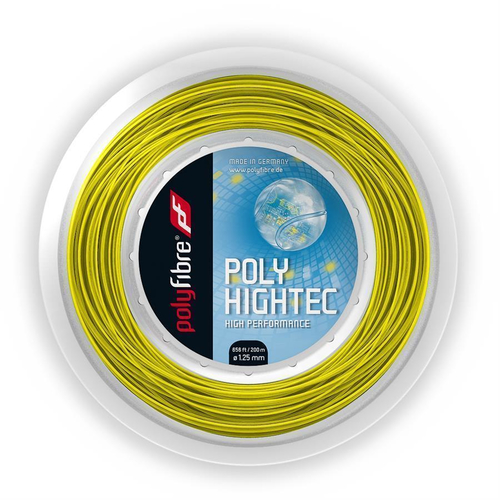 POLYFIBRE POLY HIGHTEC ( 200m Rolle ) gelb 1,25 mm