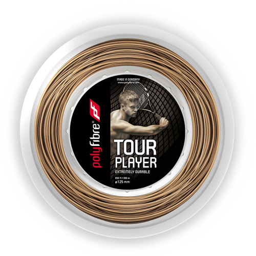 POLYFIBRE Tour Player ( 200m Rolle ) natur