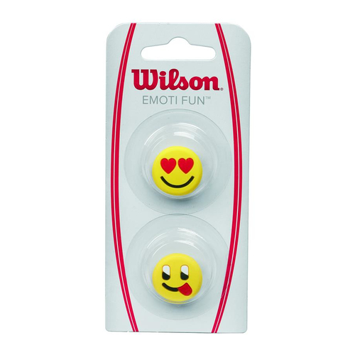 Wilson Emoti Fun Heart eyes / Tongue out ( 2er Pack )