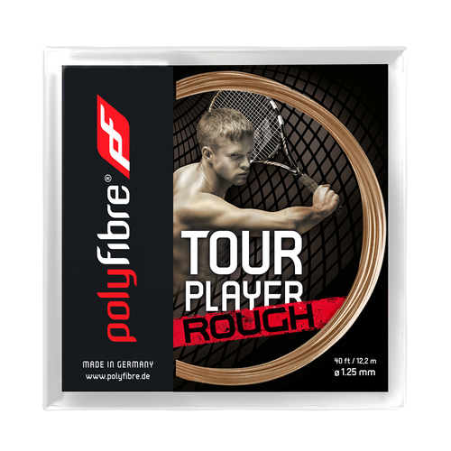 POLYFIBRE Tour Player Rough ( 12,2m Set ) natur 1,25 mm