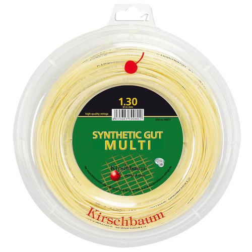Kirschbaum SYNTHETIC GUT MULTI ( 200m Rolle ) natur