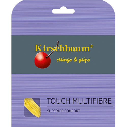 Kirschbaum TOUCH MULTIFIBRE ( 12m Set ) gold
