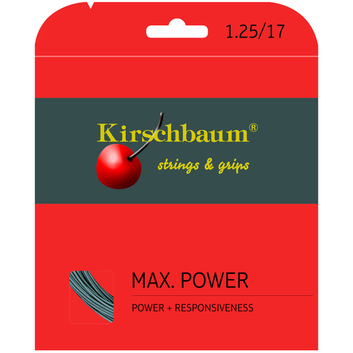Kirschbaum MAX. POWER ( 12m Set ) anthrazit 1,25 mm