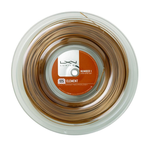 Luxilon Element ( 200m Rolle ) bronze