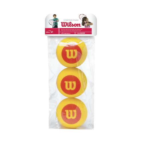 Wilson Starter Foam Ball 3er Pack