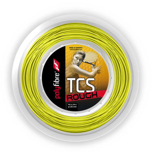 POLYFIBRE TCS Rough ( 200m Rolle ) gelb