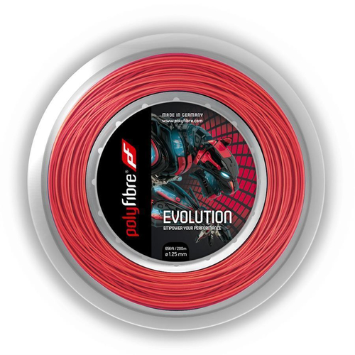 POLYFIBRE Evolution ( 200m Rolle ) rot