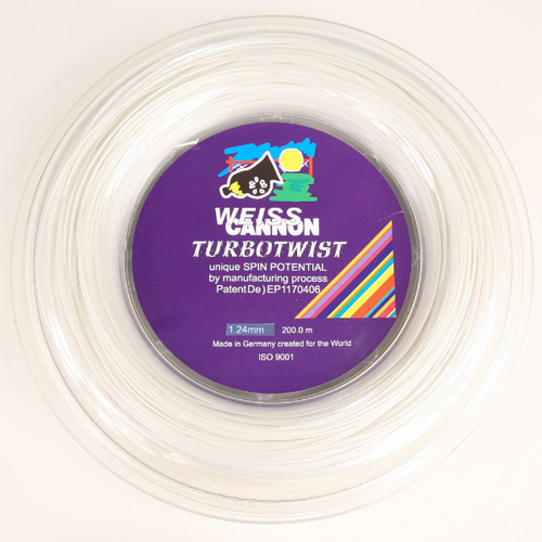Weiss Cannon Turbo Twist ( 200m Rolle ) brillant-weiß