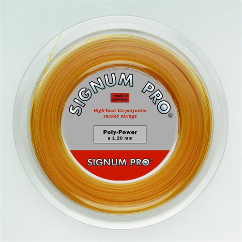 SIGNUM PRO Poly Power ( 200m Rolle ) honig