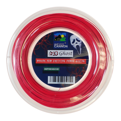 Weiss Cannon Red Ghost ( 200m Rolle ) neon-rot
