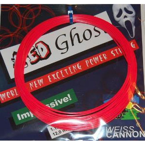 Weiss Cannon Red Ghost ( 12m Set ) neon-rot