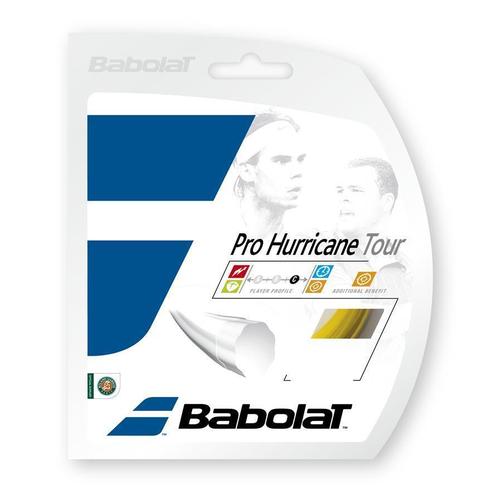 Babolat Pro Hurricane Tour ( 12m Set ) gelb 1,20 mm