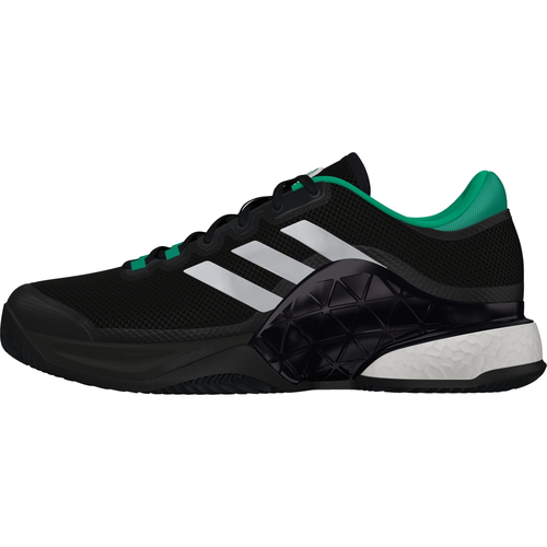 Adidas Barricade 2017 boost Men Clay Court schwarz-weiß