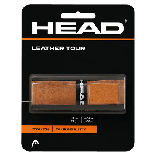 Head Leather Tour Basic Grip braun