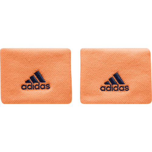 Adidas Poignet Wristband S 2er Pack glow orange-mystery blue