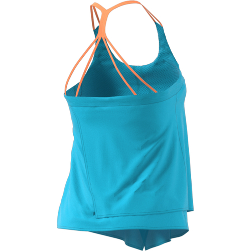 Adidas Melbourne Line Tank Women samba blue mystery blue glow orange